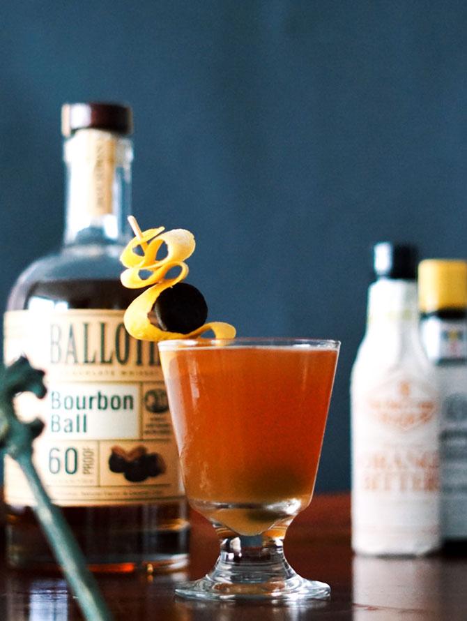 Bourbon Ball Sour