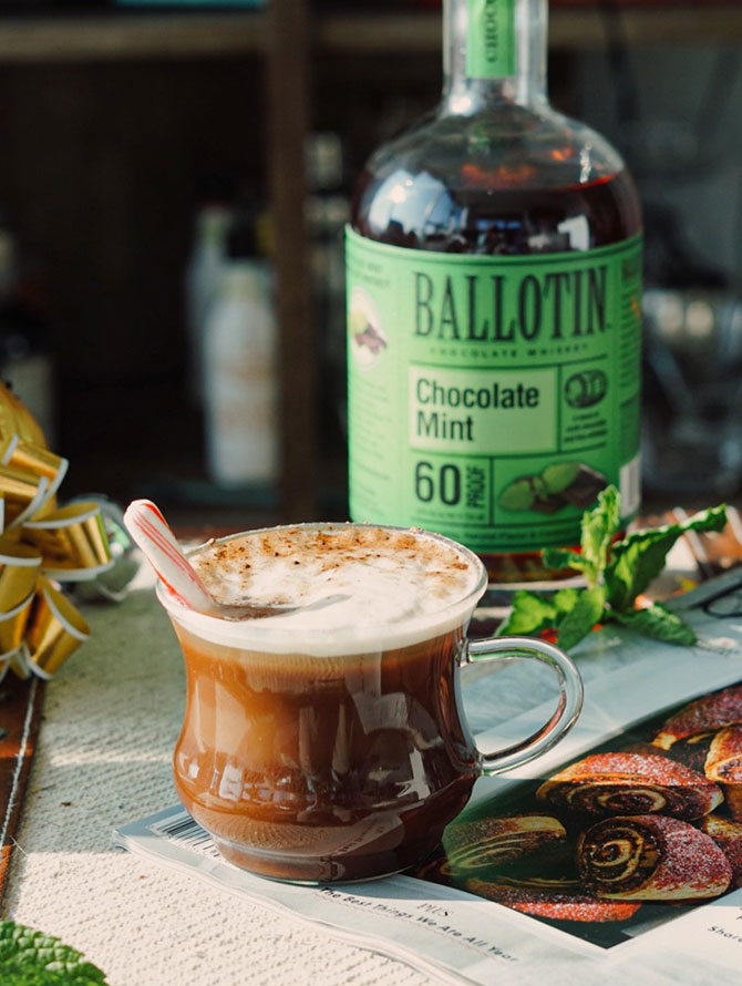 Ballotin Mint Hot Chocolate