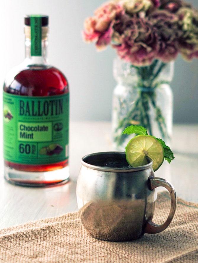 Ballotin Chocoalte Mint Mule