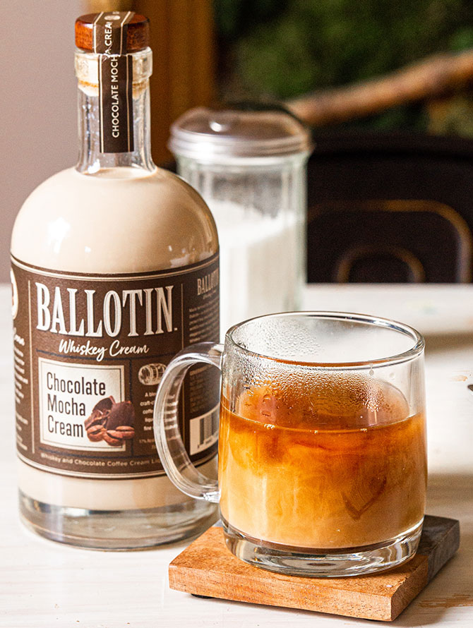 Ballotin Mocha Irish Coffee