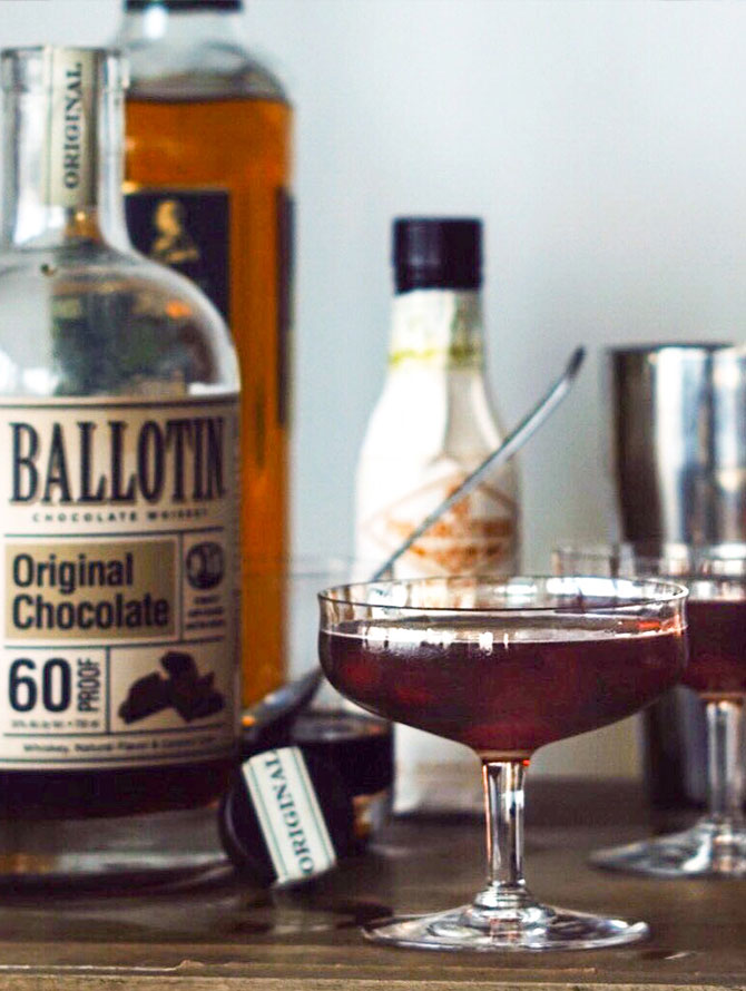 Ballotin Chocolate Manhattan