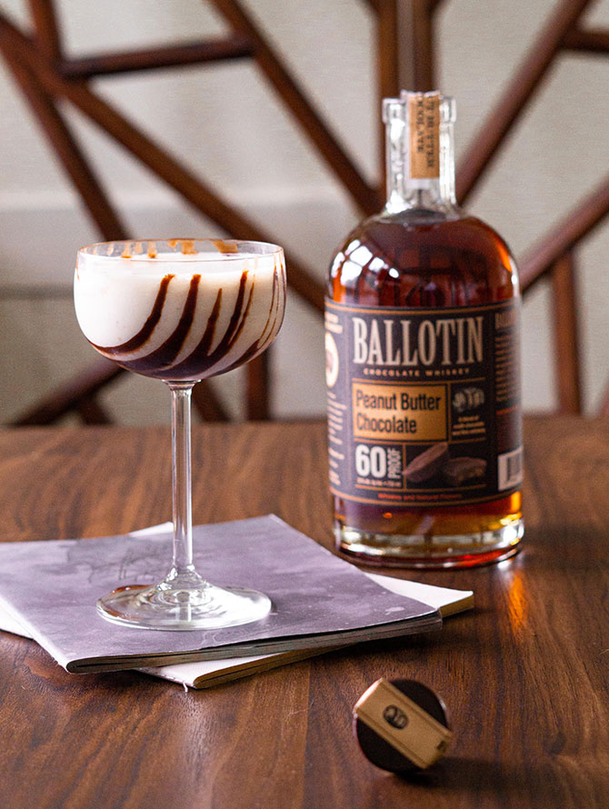 Ballotin Peanut Butter Cup Martini