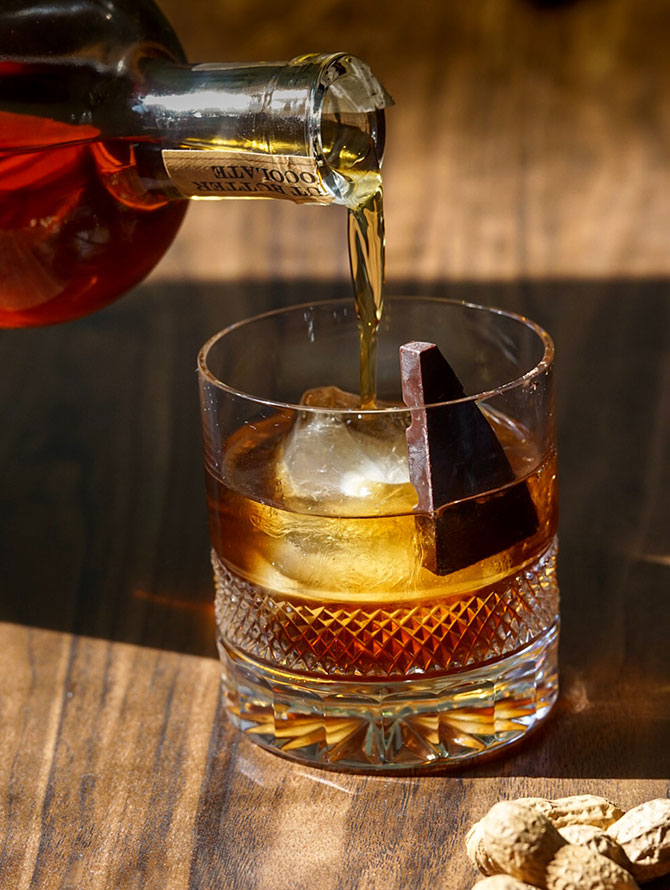Peanut Butter Chocolate Old Fashioned