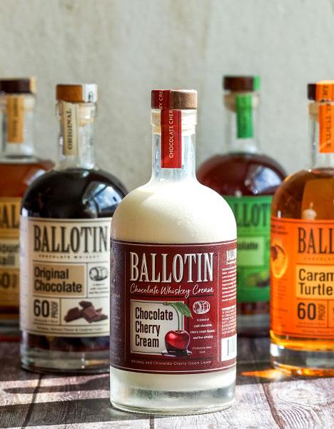 Ballotin Whiskey Bottles